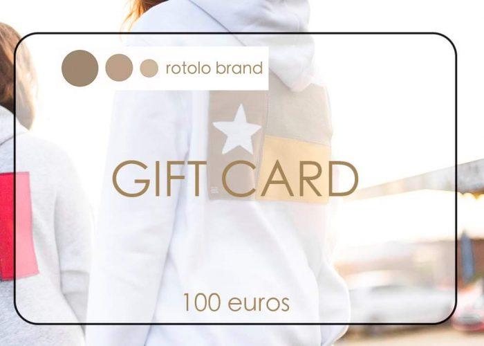 Gift card 100 €